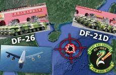 Máy bay trinh sát Mỹ theo sát Trung Quốc phóng tên lửa ở biển Đông