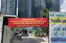 TP HCM: Hơn 350 học sinh nguy cơ không có chỗ học vì trường phải trả lại mặt bằng