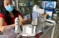 Đủ loại máy làm sạch răng miệng