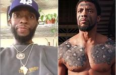 """""""Báo đen"""" Chadwick Boseman tiều tụy 3 tháng trước khi chết trẻ"""
