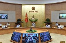 Chính phủ thảo luận về thực hiện mục tiêu kép trong bối cảnh dịch Covid-19