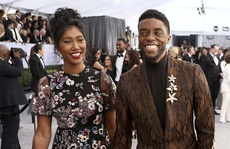 """Chuyện tình vượt bệnh tật của vợ chồng """"báo đen"""" Chadwick Boseman"""