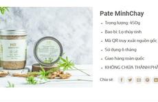 Vụ Pate Minh Chay chứa độc tố: Cảnh báo 1.290 khách hàng ở TP HCM
