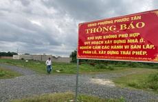 Biên Hòa: Khóc ròng vì dự án 'ma'