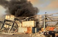 Tổng thống Trump phát biểu 'ngược dòng' vụ nổ cực lớn ở Lebanon