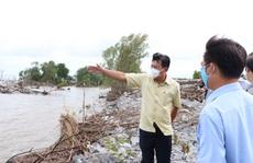 Tân Bí thư tỉnh Cà Mau trực tiếp kiểm tra đê biển bảo vệ hàng trăm ngàn hộ dân