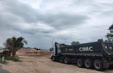 Khai thác cát lậu rộ lên ở Bắc Vân Phong