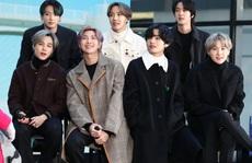 'Nhóm nhạc mỹ nam' BTS chạm vị trí số 1 trên bảng xếp hạng Billboard Hot 100