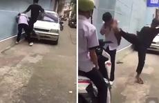 Clip nam sinh bị côn đồ đánh dã man xảy ra ở phường Tân Định - TP HCM
