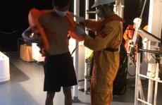 Tàu cá Quảng Ngãi bị tàu hàng đâm chìm trên biển Bình Thuận