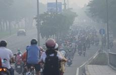 Sáng nay, sương mù bao phủ bầu trời TP HCM