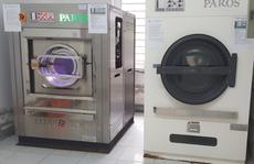 """Lô máy giặt sấy hơn 2 tỉ đồng, bán vào bệnh viện """"thổi giá"""" lên 12 tỉ đồng ?"""