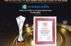 Trao giải Top 50 DN tăng trưởng xuất sắc nhất Việt Nam và Top 10 chủ đầu tư BĐS Việt Nam uy tín năm 2020
