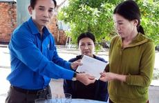 LĐLĐ tỉnh Quảng Ngãi thăm hỏi ngư dân bị tàu hàng đâm chìm ở Bình Thuận
