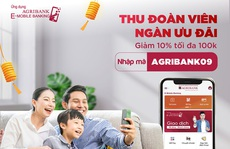 Nhận ngay ưu đãi khi mua sắm trực tuyến trên Agribank E-Mobile Banking