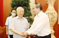Tổng Bí thư, Chủ tịch nước chủ trì buổi làm việc với Ban Thường vụ Thành ủy TP HCM