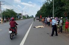 CLIP: Thanh niên chạy xe máy bạt mạng tử nạn trên Quốc lộ 20