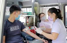Hơn 200 đoàn viên tham gia hiến máu tình nguyện