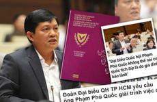 Đại biểu Quốc hội mang 2 quốc tịch phải làm sao?