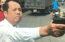 Công an xác minh người đàn ông dọa 'bắn vỡ sọ' tài xế
