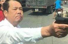 Giám đốc công ty bảo vệ dọa 'bắn vỡ sọ' tài xế: Thu súng và đạn tại nhà riêng