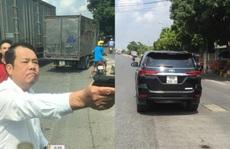 Người rút súng dọa 'bắn vỡ sọ' tài xế là giám đốc công ty bảo vệ