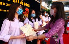 Lễ khai giảng đặc biệt tại Trường THCS-THPT Nguyễn Tất Thành