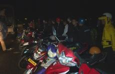 Bắt giữ gần 300 thanh thiếu niên, học sinh tụ tập đua xe