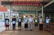 Thêm 19 bệnh nhân Covid-19 ở Quảng Nam được xuất viện
