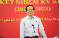 Phó Bí thư Thường trực Thành ủy TP HCM: 'Tôi từng thấy 'khớp' trước Đoàn ĐBQH TP