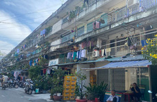 Mong ngóng cải tạo chung cư cũ