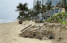 Nhiều khu vực trên bờ biển Đà Nẵng bị xói lở nặng