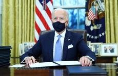 Sau lễ nhậm chức, ông Biden hủy bỏ nhiều sắc lệnh dưới thời ông Trump