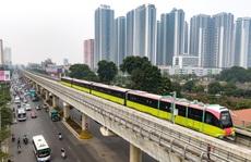 Cận cảnh đoàn tàu có thể chở ngàn khách tuyến metro Nhổn - ga Hà Nội chạy thử 5 km