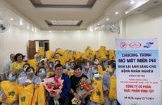 Giúp 100 bệnh nhân nghèo sáng mắt