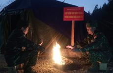 Cận cảnh cuộc sống của bộ đội biên phòng dưới cái rét 'cắt da cắt thịt' nơi địa đầu Tổ quốc