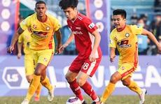 Hàng công 'tịt ngòi', CLB Viettel chia điểm với chủ nhà CLB Thanh Hoá