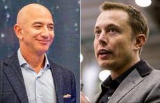 Cuộc chiến các tỉ phú Mỹ: Amazon và SpaceX kình chống nhau quyết liệt