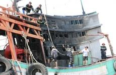 Nghe tiếng nổ lớn, người dân nhìn ra bờ biển Vũng Tàu thì thấy 3 người đang tri hô
