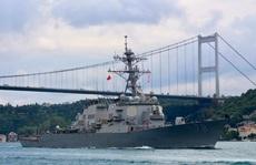 Tàu khu trục tên lửa Mỹ tiến vào Biển Đen bất chấp Nga phản đối