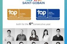 Năm thứ 6 liên tiếp Saint-Gobain nhận danh hiệu 'Global Top Employer'