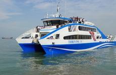 Phà biển Cần Giờ - Vũng Tàu bắt đầu hoạt động