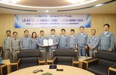 Công ty TNHH Đóng tàu Hyundai VN: Giải quyết ổn thỏa kiến nghị lương, thưởng của công nhân