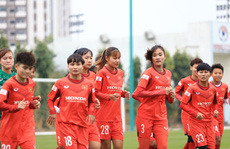 Tuyển nữ Việt Nam trẻ hóa lực lượng