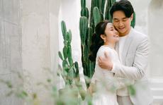 MC của VTV Thuỳ Linh chia sẻ bộ ảnh cưới 'lung linh' với chồng sắp cưới kém 5 tuổi