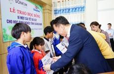 Sonkim Land trao học bổng vì một cái Tết đủ đầy cho học sinh nghèo tỉnh Quảng Nam