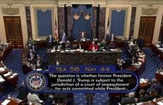 Phiên tòa luận tội: Ông Trump nổi giận vì luật sư thể hiện kém?