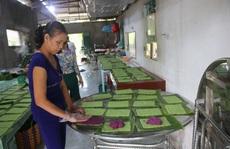 Bí quyết tạo nên bánh tét lá cẩm thơm lừng dịp Tết ở miền Tây