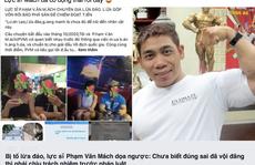 Thực hư chuyện lực sĩ Phạm Văn Mách bị tố lừa đảo, chiếm đoạt tài sản