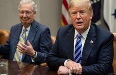 """Ông Trump """"tấn công"""" dữ dội lãnh đạo Đảng Cộng hòa tại Thượng viện"""